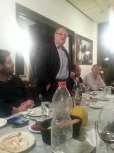 Yossi Vardi ile Yemek