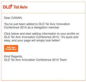 DLD Invitation